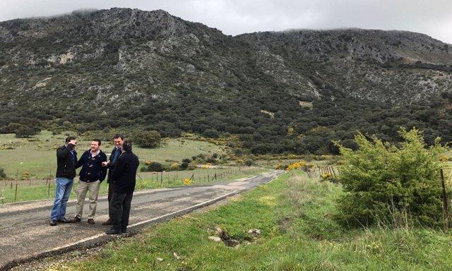 Felix Romero carretera cortes de la frontera y ubrique PP Málaga