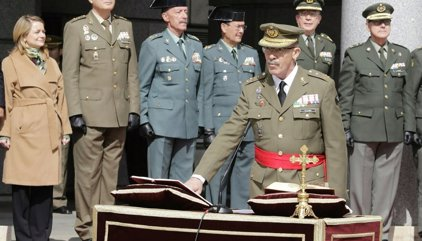 """El nuevo JEMAD defiende """"patria y sacrificio"""" frente a """"mentira y derrotismo"""""""