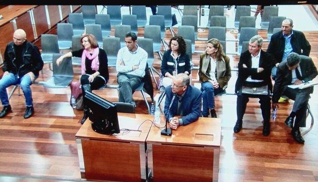 Juicio caso 'Majestic'. Declara exalcalde de Casares Juan Sánchez