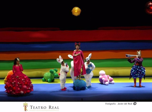 Representación el Gato con botas Teatro Real