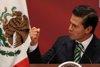 Peña Nieto presume de cifras