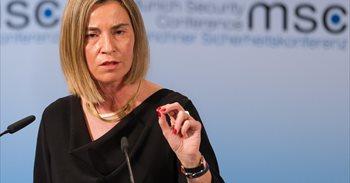 """Mogherini pide elecciones """"justas e inclusivas"""" y la liberación de los..."""