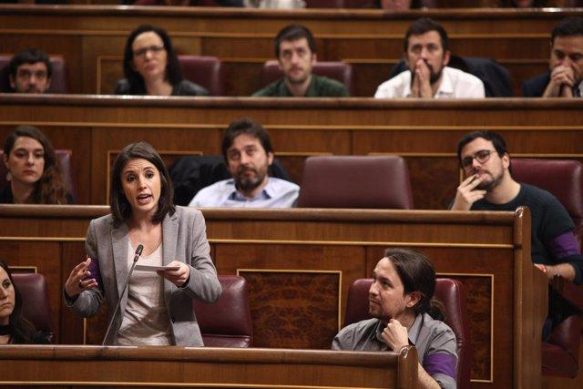 Irene Montero, de Podemos