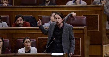 """Pablo Iglesias carga contra la presidenta del Congreso por """"vulnerar de..."""