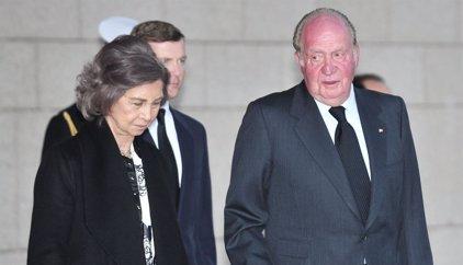 El Rey Juan Carlos apenado en la despedida a su última tía, Alicia de Borbón-Parma