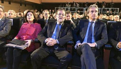 """Santamaría ve """"muy grave"""" que la Generalitat catalana no haya roto con la CUP por el escrache"""