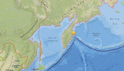 Registrado un terremoto de magnitud 6,9 en el extremo oriental de Rusia