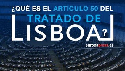 ¿Qué es el artículo 50 del Tratado de Lisboa?