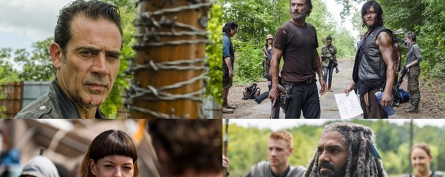The Walking Dead: Así están colocadas las piezas antes de la guerra contra Negan (AMC)