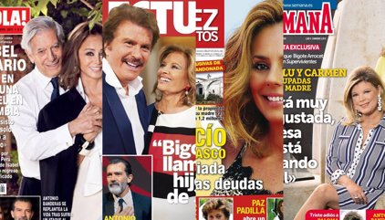 La pena de María Teresa, la deudas de Rocío Carrasco y el gran susto de Antonio Banderas