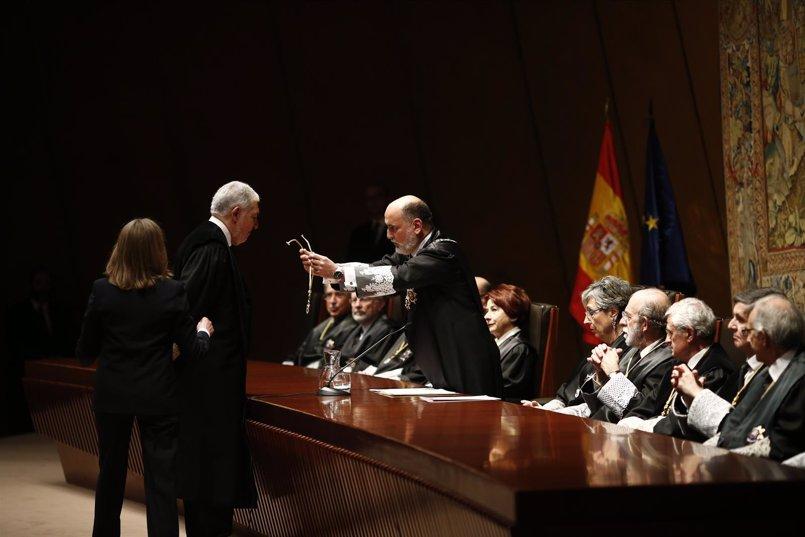 González Rivas, Roca, Ollero y Valdés Dal-Ré presidirán las secciones del Tribunal Constitucional