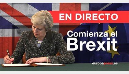 Comienza el 'Brexit' | Directo: El embajador británico entrega a Tusk a las 13.20 horas la carta
