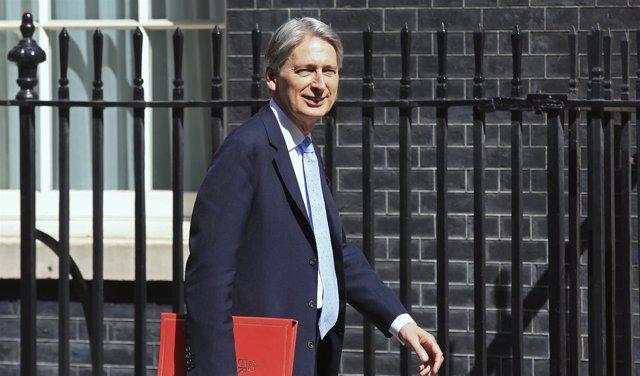 El ministro de Exteriores británico, Philip Hammond
