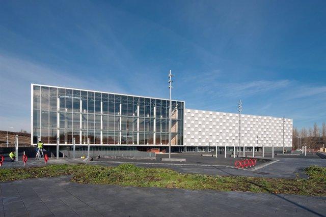 Exterior del pabellón Navarra Arena
