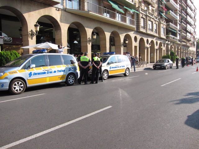 Control Tráfico En Logroño