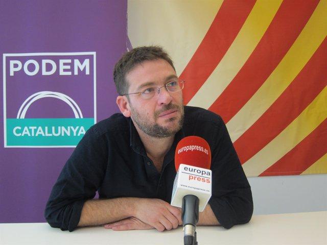 Albano-Dante Fachin en una entrevista de Europa Press