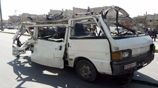 Atentado terrorista en Homs