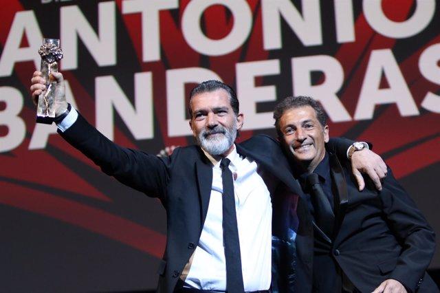 Banderas biznaga de oro honorífica festival cine málaga actor hermano español