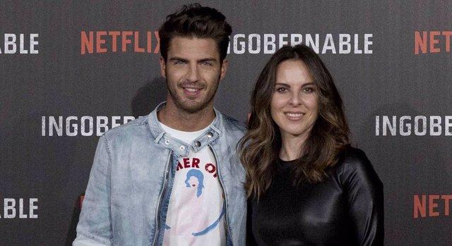 Maxi Iglesias y Kate del Castillo en 'Ingobernable'