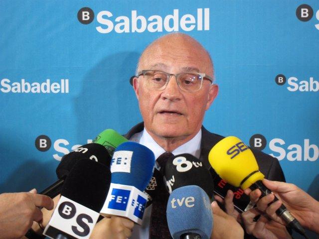 Josep Oliu (Banco Sabadell)
