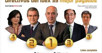 Del Pino, Isla, Galán y Botín, los directivos mejor pagados del Ibex en...