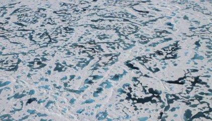 Solución al misterio del hielo verde en el Ártico