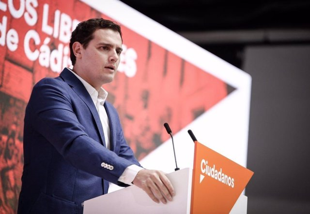 Albert Rivera, presidente de Cs
