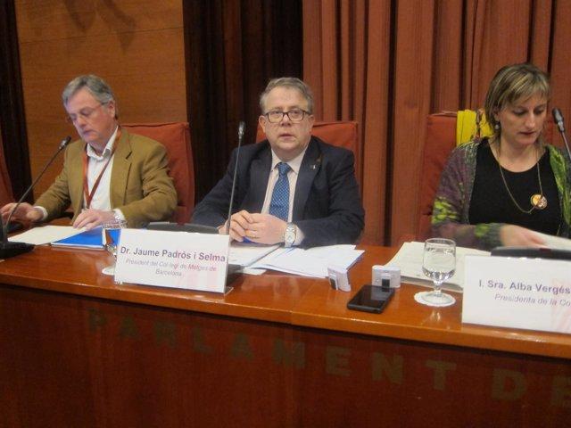 El Presidente Del COMB, Jaume Padrós