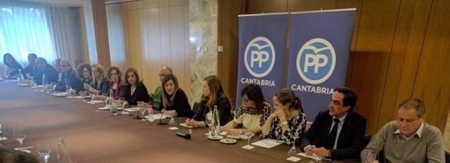 Reunión de primer Comité Ejecutivo del PP tras el Congreso