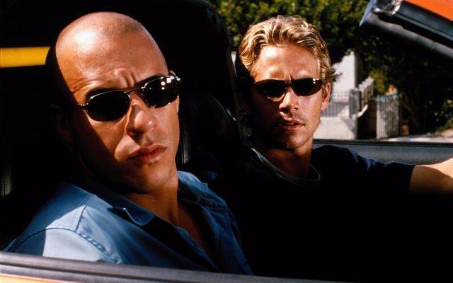 Vin Diesel y Paul Walker en Fast & Furious