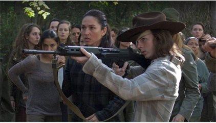 Fans de The Walking Dead claman contra el épico gazapo de Carl durante el 7x15