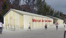 Barcelona invertirà 9,5 milions en la remodelació del mercat de Sant Andreu (EUROPA PRESS)