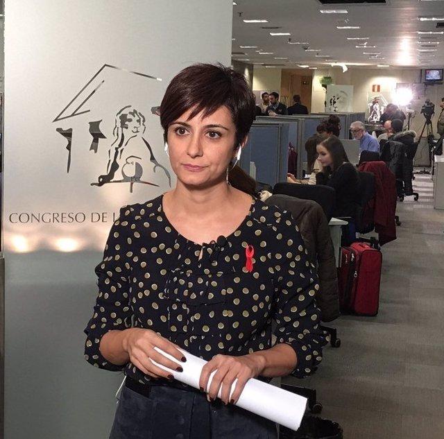 Isabel Rodríguez, diputada del PSOE
