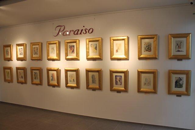 Exposición de grabados de Dalí en La Casona