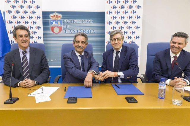Carrefour se suma al patrocinio del Año Jubilar Lebaniego