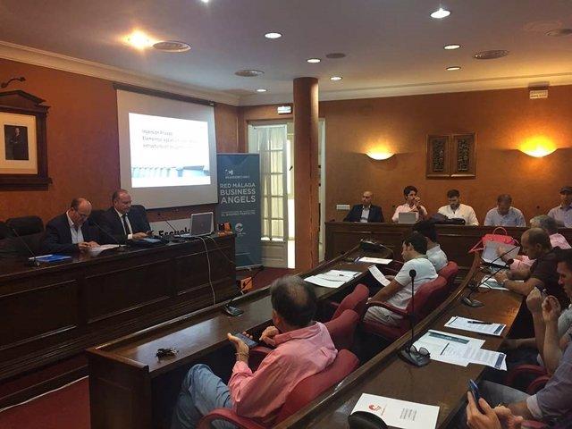 Málaga business angels red finanaición proyectos diputación salado