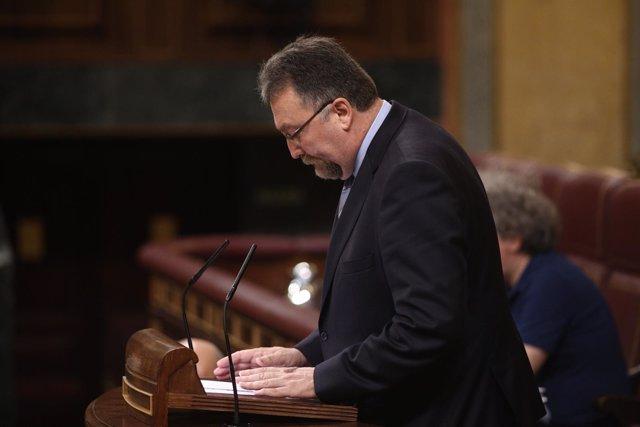 El diputado de Foro Asturias, Isidro Matínez Oblanca