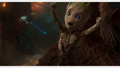 VÍDEO: Baby Groot arrasa en el nuevo adelanto de Guardianes de la Galaxia Vol.2