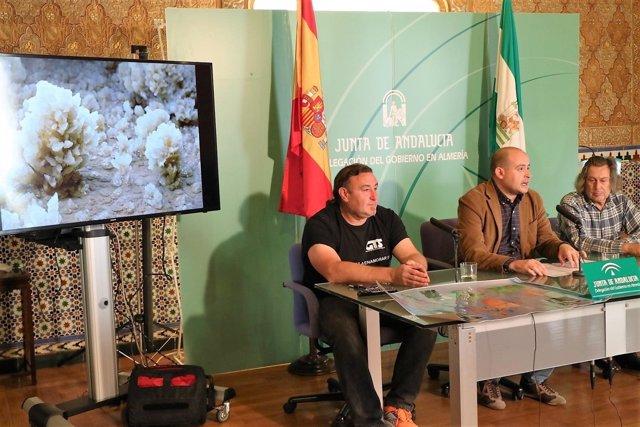Presentación del Congreso Regional de Espeleología que se realizará en Sorbas
