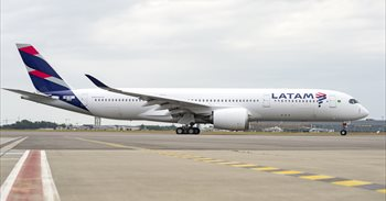 LATAM, primera aerolínea en unir Francia y Latino América con el A350 XWB