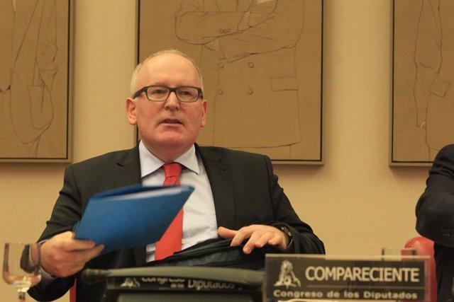 Vicepresidente primero de la comisión europea, Frans Timmermans