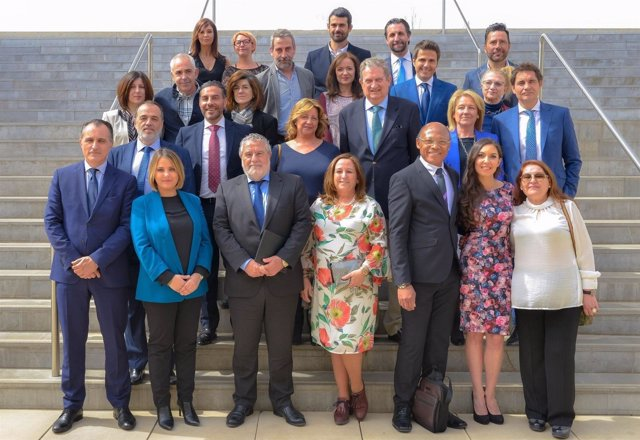 Foto de familia de los XVIII Premios El Público de Canal Sur