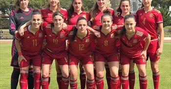 La selección española femenina sub-17 se clasifica para la Eurocopa