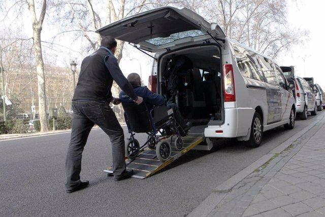 Eurotaxi, taxi para discapacitados