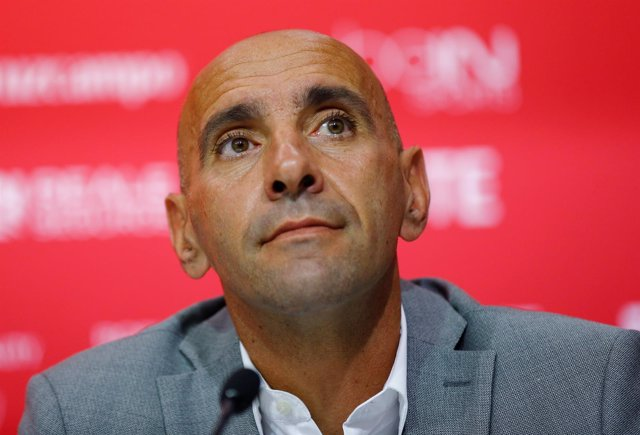 El director deportivo del Sevilla FC, Ramón Rodríguez 'Monchi'