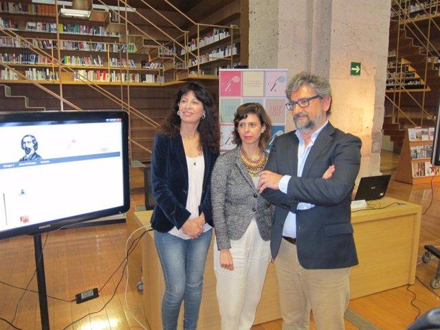 Valladolid. Presentación de los dos microespacios web