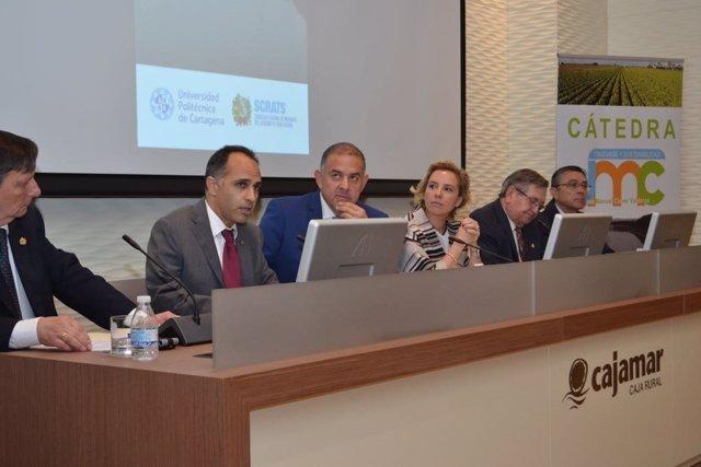 Convenio Sindicato Central Regantes-UPCT