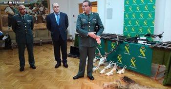 Desarticulado un grupo criminal de caza furtiva que actuaba en Teruel y...