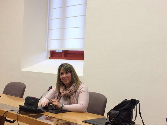Carmen Santos, diputada de En Marea y secretaria xeral de Podemos