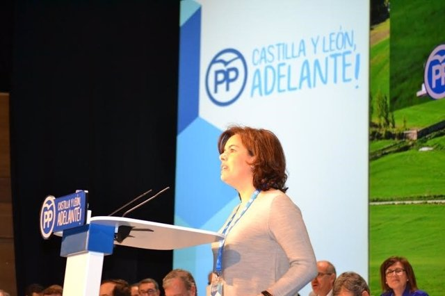 Valladolid. Soraya Sáez de Santamaría en el Congreso del PPCyL